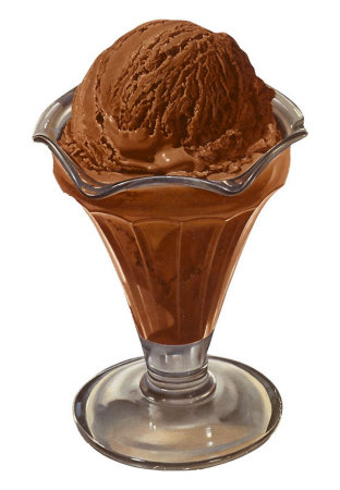 Diabetes-Friendly Chocolate Ice Cream