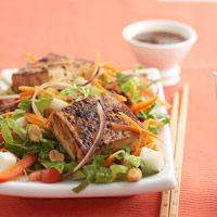 Asian Tofu Salad for Diabetics