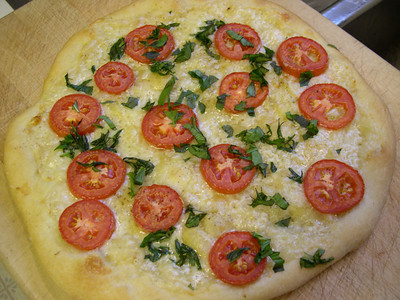 Tomato Pizza - Diabetic Recipe